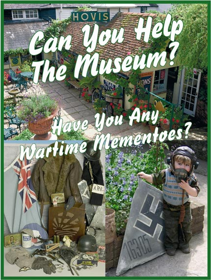 Can you help the Museum? Do you have any wartime mementoes?