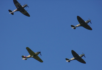Remembrance flypast